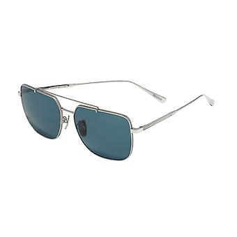 Chopard SCHC97M 579P Shiny Palladium/Polarised Green Sunglasses