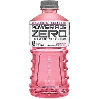 Powerade Zero Strawberry-( 710 Ml X 12 Bottles )