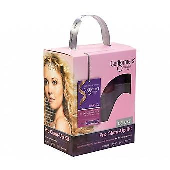 Curlformers Glam Up Kit - Deluxe Barrel Curls Extra Long
