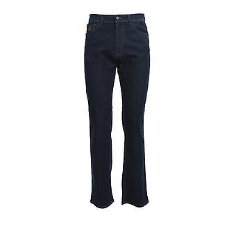 Corneliani 854jk50120159005 Men's Blue Cotton Jeans