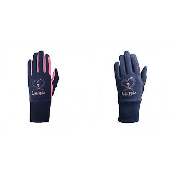 Little Rider Childrens/Kids Riding Star Winter Gloves