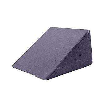 Passende Schlafzimmer Flex Schaum 'Ava' Bett Keil Unterstützung Kissen mit abnehmbaren Saphir Wolle Effekt Abdeckung
