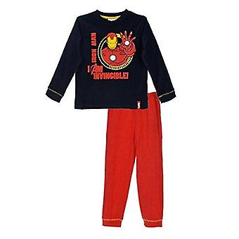 Marvel boys pyjama set iron man/hulk