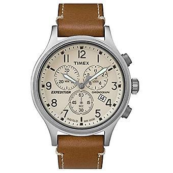 Timex Uhr Chronograph Quarz Herrenuhr mit Leder TW4B09200