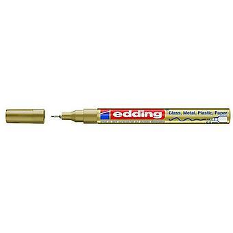 edding-780 cr paintmarker الذهب 10PC 0,8 مم / 4-780-9-053