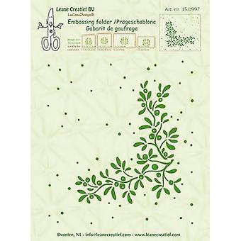 LeCrea - Embossing folder Mistletoe 35.0997 14,4x16cm