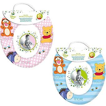 Disney Baby Soft Toilet Training Seat Winnie The Pooh & Friends - Pink