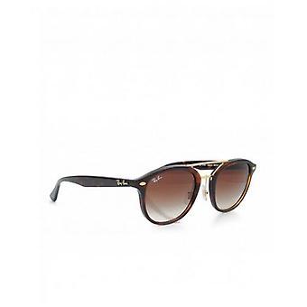 Ray-ban Round Gold Double Bridge Sunglasses
