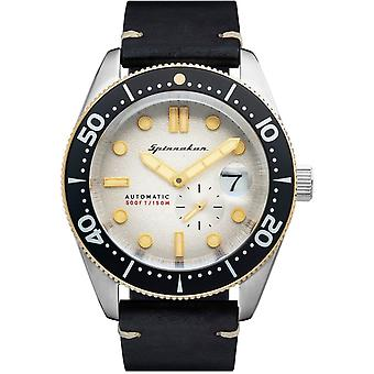 Spinnaker SP-5058-0A Gent's Croft White Dial Wristwatch