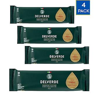 4 x 500g Delverde Linguine Pasta Vegan Food Durum Wheat Semolina Cooking