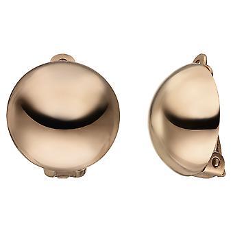مقاطع الأذن 925 الاسترليني الفضة الذهب الأقراط مطلي
