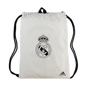 Víceúčelová taška Adidas Real Madrid Rukavice Bílá