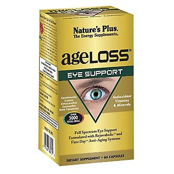 Nature's Plus Ageloss Eye Support VCaps 60 (8010)