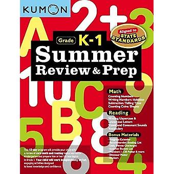 Summer Review & Prep - K-1 by Publishing Kumon - 9781941082607 Book