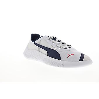 Puma SF Replicat X  Mens White Canvas Lace Up Low Top Sneakers Shoes