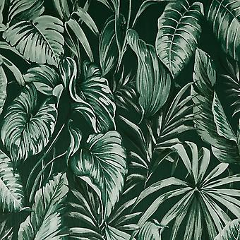 Sublime Leaves Exotique Wallpaper Green Graham and Brown 107010