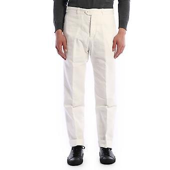 Pt01 Thewriterbp310010 Men's White Cotton Pants