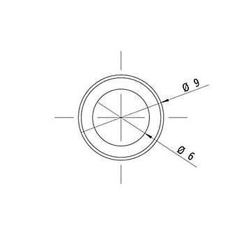 وحدة ليزر ليزر نقطة أحمر 1 كيلوواط LFD650-1-12 (9 × 20)