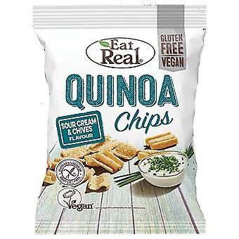 Ät Real Quinoa Chips - 12 Pack x 30gr