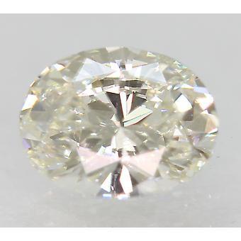 Zertifiziert 0.63 Karat G Farbe VVS1 Oval natürliche lose Diamant 6.31x4.89mm 2VG