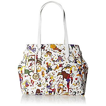 piero drive 210474038 White Women's Tote Bag (Snow) 34x30x17 cm (W x H x L)