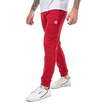 Men's adidas Originals Trefoil Track Pant in Red