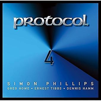 Simon Phillips - Protokoll 4 [CD] USA Import
