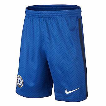 2020-2021 Chelsea Home Nike Football Shorts (Enfants)