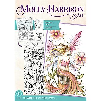 Crafter's Companion Molly Harrison Sultry Sue Clear Stamps