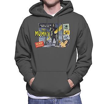 Hammer Horror Films Mummy Fear Will Freeze You Men-apos;s Sweatshirt à capuchon