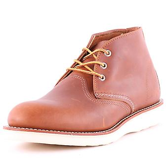 Red Wing 3140 Classic Mens Chukka Boots in Tan