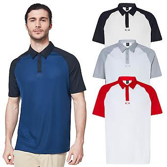 Oakley Mens Traditional Breathable Comfort Golf Polo Shirt