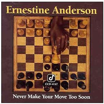 Ernestine Anderson - Never Make Your Move Too Soon [CD] USA import