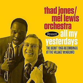 Jones, Thad / Lewis, Mel Orchestra - All My Yesterdays: The Debut 1966 Village Vanguard [CD] USA import