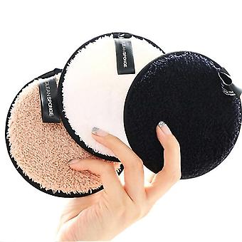 Reusable Cotton Pads Make-up Facial Remover Double Layer Wipe Pads Nail Art Cleaning Pads Washable With Laundry Bag