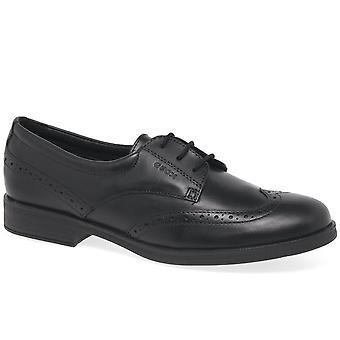 Geox Agata फीता लड़कियों वरिष्ठ जूते