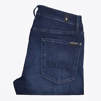 7 For All Mankind  - Slimmy Luxe Performance Jeans - Dark-Blue