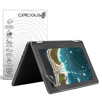 Celicious Impact Anti-Shock Shatterproof Screen Protector Film Compatible with Asus Chromebook Flip C214 (Anti-Glare Display)