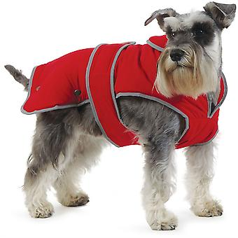 Ancol Stormguard Dog Coat - Poppy Red - Small (10-14 inch)