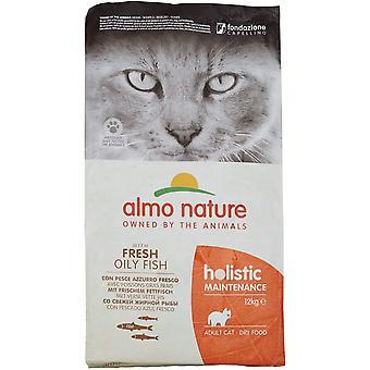 Almo Natura Manutenzione Olistica Cat Cibo secco con pesce bianco e riso - 12kg