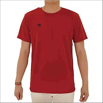 Mooto cool round kids t-shirt red