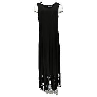 Attitudes By Renee Regular Dress Sleeveless Maxi Black A378319