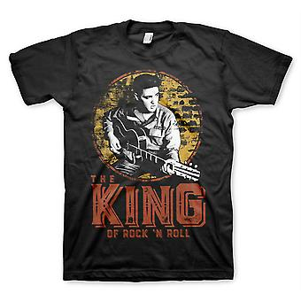 Elvis - the king of rock and roll - t-shirt