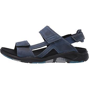 ECCO Men's Shoes borba Leather   Open Toe Sport Sandals