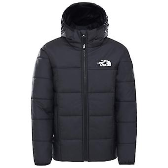 Die North Face Black Boys Reversible Perrito Jacke