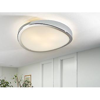 Schullera - 3 luce rotonda a filo soffitto cromato, E27