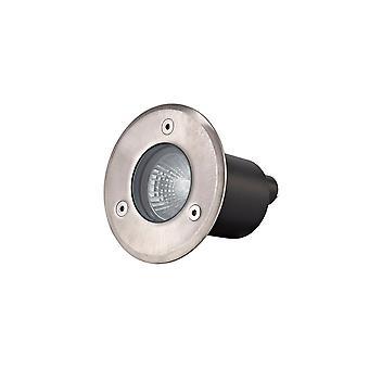 Round Inground Light, Stainless Steel 316L, GU10, IP67