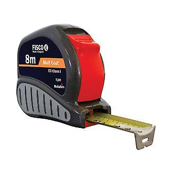 Fisco TL8M Tri-Lok Pocket Tape 8m (Width 25mm) (Metric only) FSCTL8M