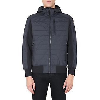 Parajumpers Pmflefp01p42541 Men's Black Polyester Down Jacket