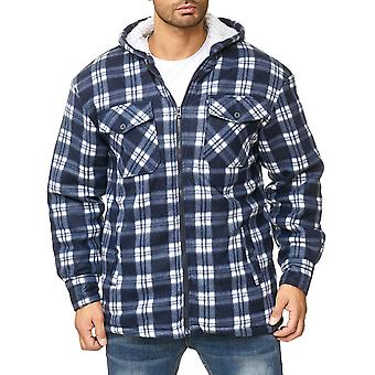Chemise d'homme Lumberjacket damiers Thermo Lined Sweat veste flanelle Workwear